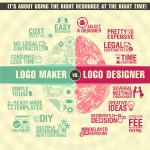 Online Logo Maker vs. Logo Designer